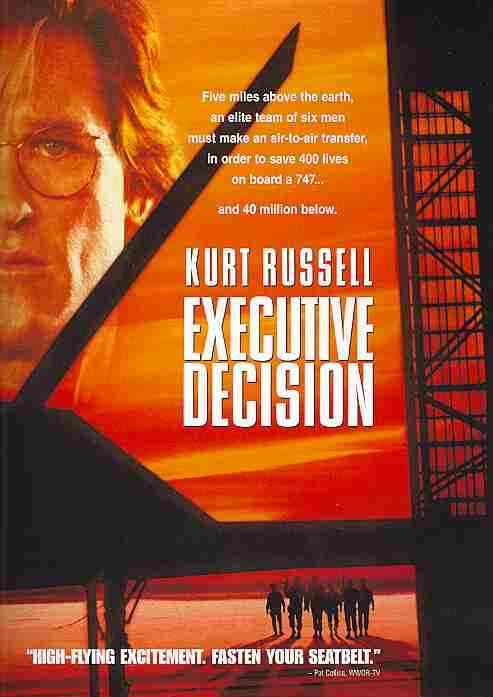 EXECUTIVE DECISION BY RUSSELL,KURT (DVD)
